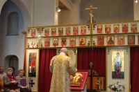 Byzantijnse mis.